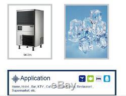 Kołice Commercial Cube Etl Machine À Glace, Cube De Fabrication De Glace, Machine À Glaçons