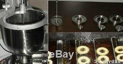 La Prise De Beignet Électrique / Poêle-linge, Machine À Beignet, 3 Moules 110v / 220v