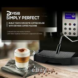 Machine À Café Avec Mélangeur De Lait Conique Pour Faire De La Latte Espresso