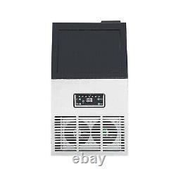 Machine À Glaçons Électrique 60 KG Par Machine Automatique De Fabrication De Glace De 24h 110v