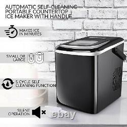 Machine Automatique De Fabrication De Glaçons Machine Portable De Fabrication De Glaçons Pour Refroidir En Été