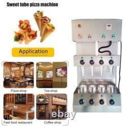 Machine Commerciale De Fabricant De Fabricant De Formage De Cône De Pizza Avec Le Four À Pizza Rotationnel