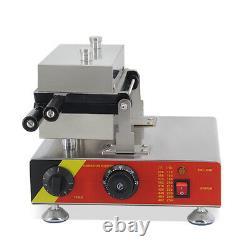 Machine Commerciale De Fabrication De Gaufres 110v Avec 10 Pcs 180° Openi