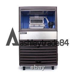 Machine De Fabrication De Glace De Cube Libre 55kg/24h Pour Barre 220v