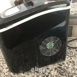 Machine Portable De Machine De Machine De Glace Pour Les Glaçons À La Maison Prêts En 8 Minutes Font La Glace De 26 Lbs