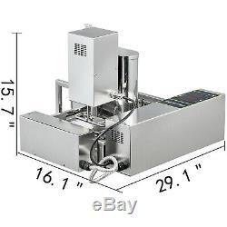 Maker Automatique Commerciale Donut Machine De Fabrication De Grand Réservoir D'huile 4 Taille Donut Moisissures