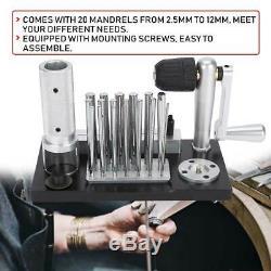 Manuel En Acier Inoxydable Maker Jump Anneau Machine De Fabrication De Bijoux Avec 20 Mandrin