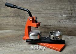 Micro Badge Maker Machine De Fabrication De 100 Badges, Coupe-cercle Et Meurent 45mm