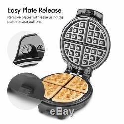 Mini Beignes Plaque De Cuisine Waffle Machine De Fabrication De Brownie Snack Nuit