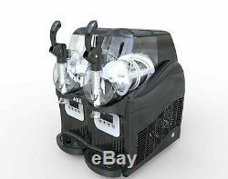 Nouveau 2 Réservoir Congelé Boisson Slush Slushy Fabrication De Jus De Machine Smoothie Maker 2-2l