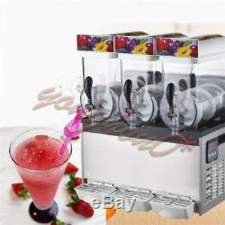 Nouveau Commercial 3 Réservoir Congelé Boisson Slush Slushy Making Maker Machine Smoothie
