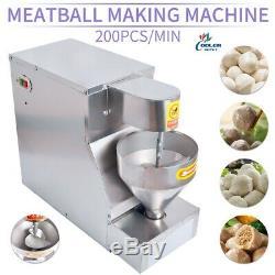 Nouveau Commercial Meatball Machine Faire Porc / Boeuf / Poisson / Poulet Balls Maker