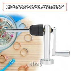 Nouveau Manuel En Acier Inoxydable Jump Ring Maker Machine Jewelry Making Tool Kit