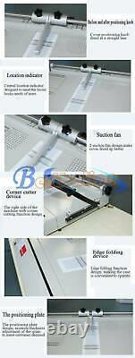 Nouveau Pro A3 Cas De Couverture Dure Maker Bureau Hardback Hardbound Making Machine