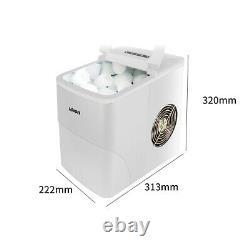 Nouvelle 220v Commercial Home 15kg Automatique Round Ice Cube Maker Machine À Fabriquer De La Glace
