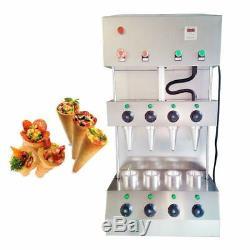 Pizza Commerciale Cône Formant Making Machine Maker Avec Four À Pizza Rotational