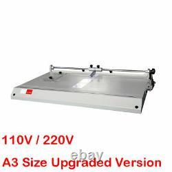Pro A3 Cover Case Maker Desktop Hardback Hardbound Making Machine 110v