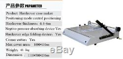 Pro A3 Taille Hard Cover Case Maker Bureau Livre Relié Hardbound Making Machine 110v