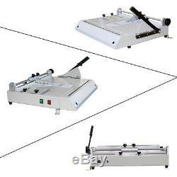 Pro A4 Taille Hard Cover Case Maker Portable Livre Relié Hardbound Making Machine USA
