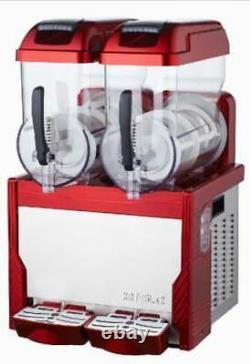 Rouge-commercial-2-tank-frozen-drink-slush-slushy-making-machines-smoothie-maker-s