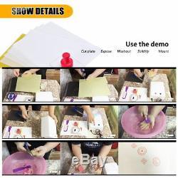 Rubber Stamp Making Machine Plate Diy Photopolymère Unité D'exposition Stamp Maker Cra