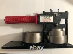 Tecre 2 1/4 Model 225 Button Maker Machine Ou Faire Des Pinbacks, Aimants, Porte-clés