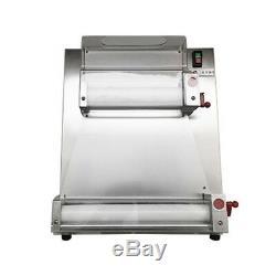 Us 370w Automatique 3 Tailles Rouleau La Pâte À Pizza Pizza Machine Coupeuse Faire Maker