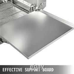 Vevor 9l Commercial Automatique Donut Maker Fryer Making Machine 3 Sets Free Mold