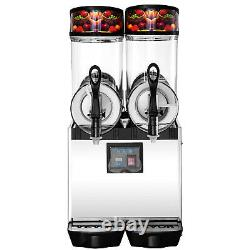 Vevor Commercial 24l Margarita Slush Making Machine De Boisson Congelée Machine À Glace 2tank