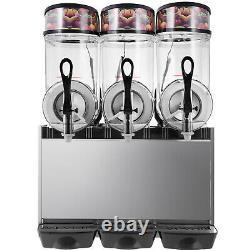 Vevor Commercial 3 Réservoirs Boissons Surgelées Slushy Making Machine Smoothie Maker 36l