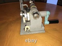 Vintage 3m Sasheen S-71 Bow Making Machine Heavy Duty Manivelle Ruban Maker